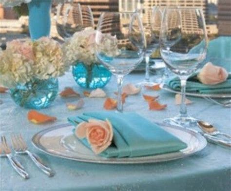 tiffany blue and light pink wedding theme   Tiffany blue