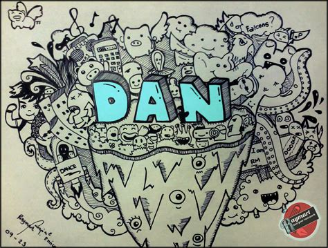 doodle name dan doodle dan by rmenrico design found everywhere
