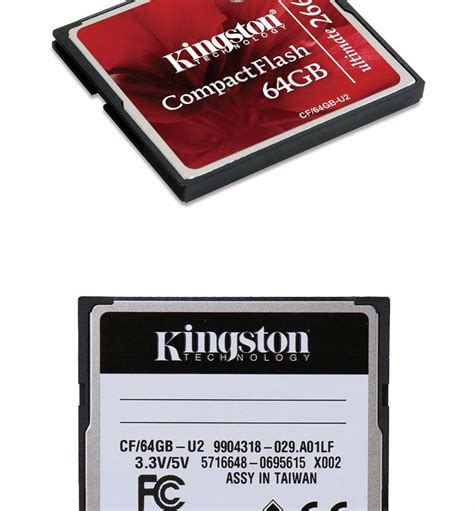 Kingston Compactflash Memory Card Ultimate 266x 45mbs 64gb kingston micro sd card 16gb compactflash memory cf card micro sd cf 16gb u2 ultimate 266x