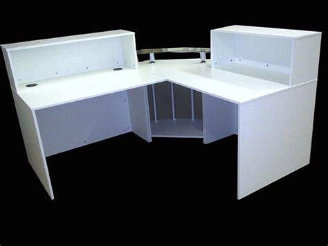 Quality Reception Desks Ref 0405 Quality Reception Desk In White Matt