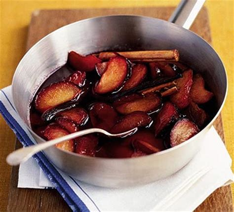 Plumb Recipes by Poached Plums Recipe Food