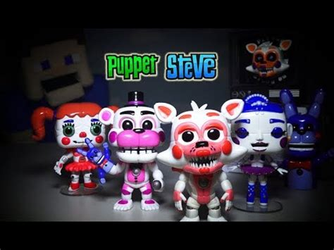 Funko Pop Fnaf Location Lolbit Nycc Exclusive 229 bendy and the ink machine bootleg figures knock boris wolf review toys plush hack
