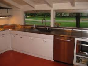 Paint Metal Kitchen Cabinets by Garth And Martha Have Pro S Soda Blast And