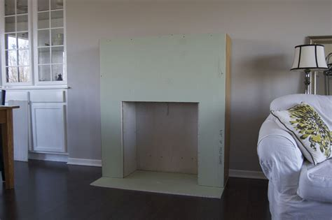 how to build a faux fireplace how to build a faux fireplace
