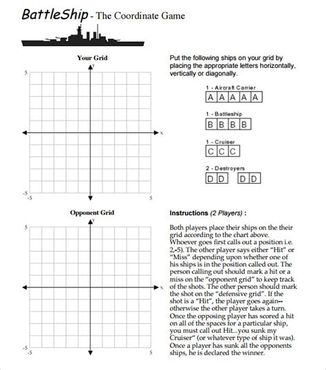 battleship game board template www pixshark com images