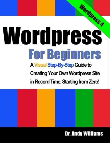 wordpress website tutorial for beginners step by step book pdf free canada download wordpress for beginners a