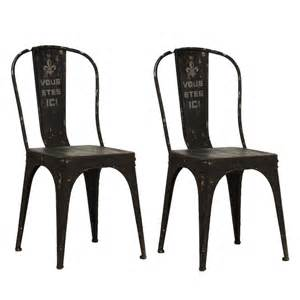 French Country Armoires Black Metal French Words Chairs Pair