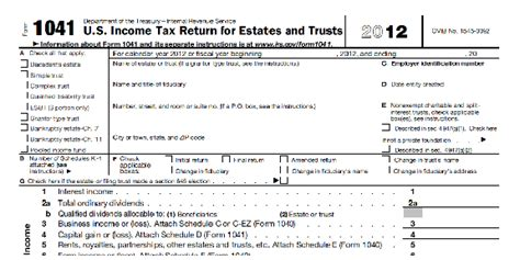 irs section 645 download grantor trust required file 1041 free