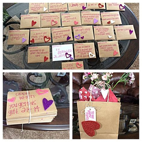 valentines present boyfriend valentines for him open when letters see more about