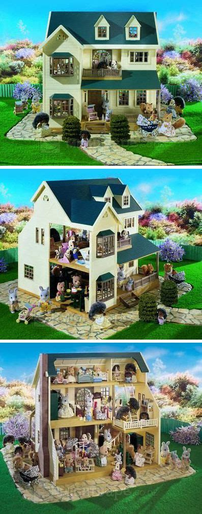 dolls house on the hill 324 best sylvanian families calic 243 critters images on pinterest sylvanian families doll