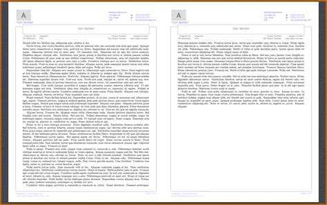 technical report template word 2010 report format word org this