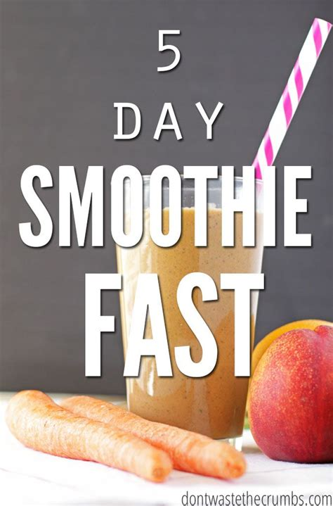 5 Day Detox Smoothie Diet by 5 Day Smoothie Fast Smoothie
