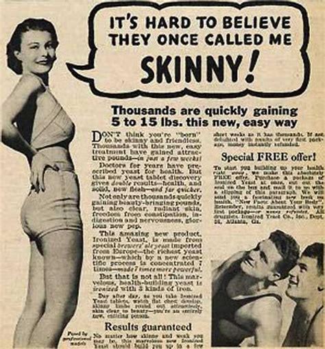Magazine Gain Weight by Vintage Weight Gain Ads For