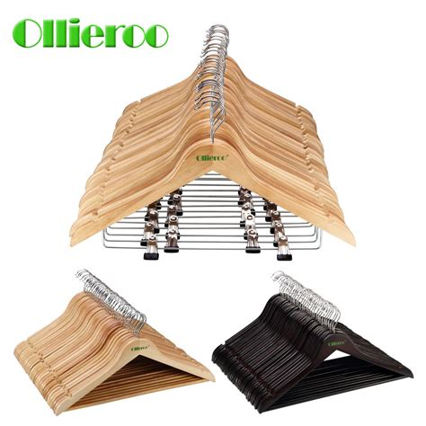 woodworking clothing ollieroo 30 pack wooden wood hangers wood clothes coat