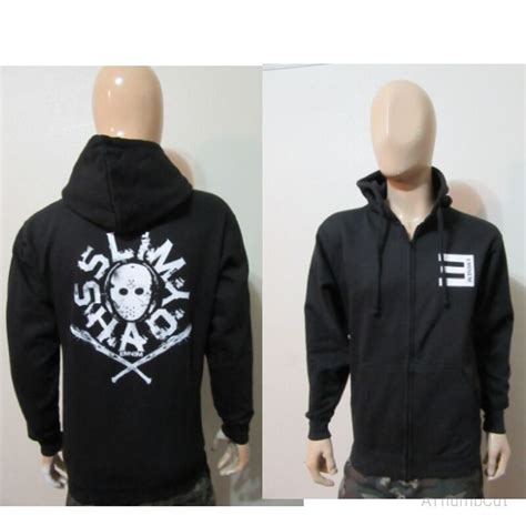 eminem zipper hoodie spiked bat eminem zip up hoodie slim shady rap god detroit