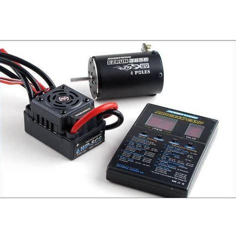 Hobbywing Quickrun Sensored 10bl60 10 5t Motor Program Card speed controllers greens models