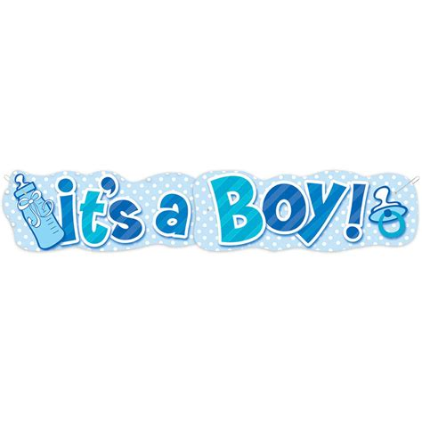 Its A Banners Image Gallery It S A Boy Banner