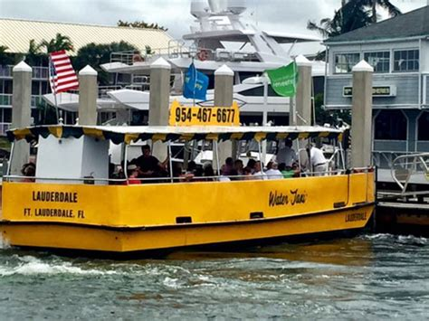 boat taxi fort lauderdale water taxi