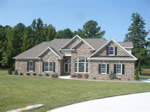 One Story With Basement House Plans Charles Contracting Inc Home