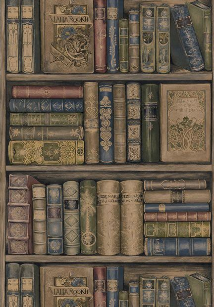 pattern library background book wallpaper from sherwin williams bookish theme