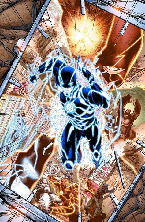 Flash New 52 damn coffee and wally west makes new 52 debut in the flash annual 3
