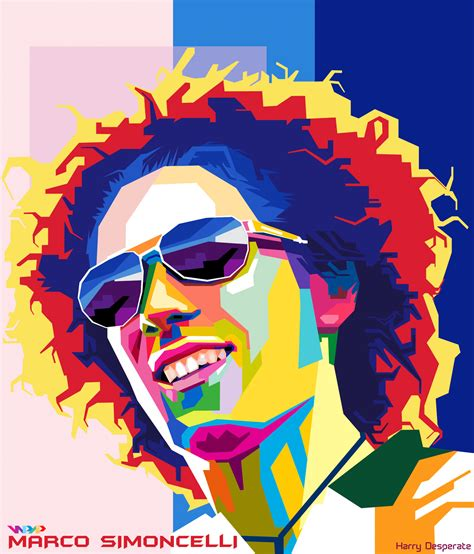 Kaos Simoncelli marco simoncelli in wpap by harrypotro deviantart on