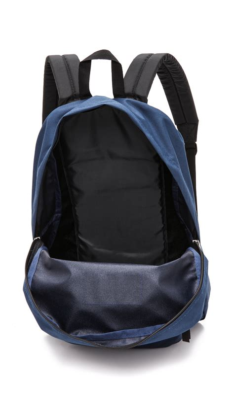 lyst jansport classic superbreak backpack navy in blue