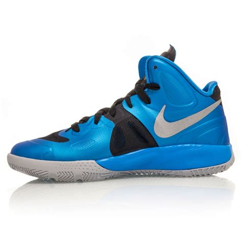 junior basketball shoes nike hyperfuse gs junior basketball shoes blue black