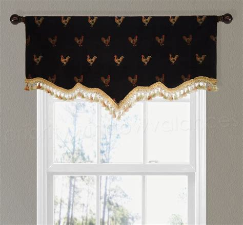 Black And Gold Window Valances 1000 Images About Drapery Styles On Balloon