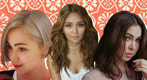 kathryn bernardo with bangs beauty inspo mid year hair makeover pegs from jodi