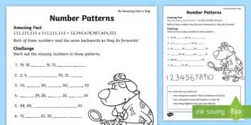 number pattern games online free number patterns worksheet activity sheet july amazing