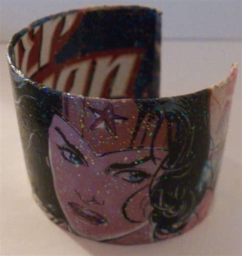from cuts to cuffs books comic book cuff bracelet 183 how to make a paper bracelet