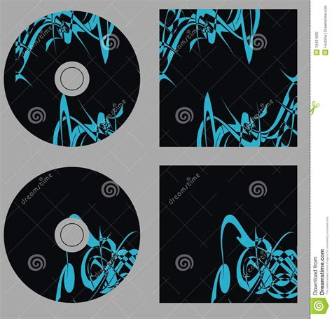layout cd vector design template set cd on vector stock photo image