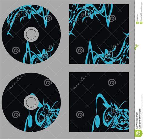 cd design template design template set cd on vector stock photo image