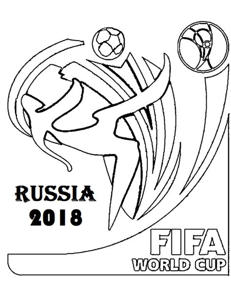 Free Coloring Page 2018 by Fifa World Cup 2018 Coloring Page Free Printable