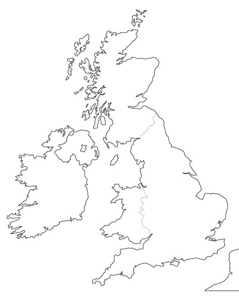 printable uk map printable blank map of the uk free printable maps
