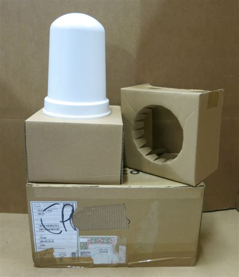 Cisco Aironet 2 4 Ghz Mimo Wall Mounted Omnidirectional Antenna Air A new cisco air ant2544v4mr aironet dual band mimo mounted omnidirectional antenna