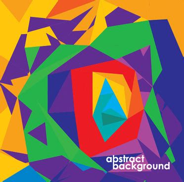 abstrak format vector abstract colorful geometric vector background free vector