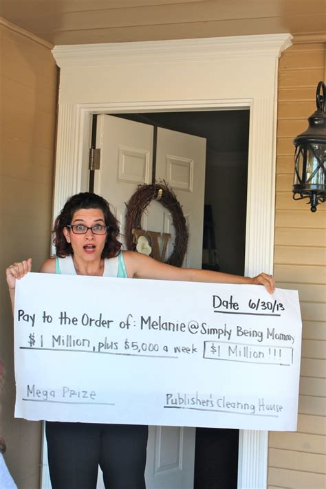 Who Funds Publishers Clearing House - what would you do with 1 million simply being mommy