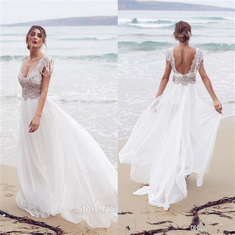 white beach wedding dresses women 39 s style white beach