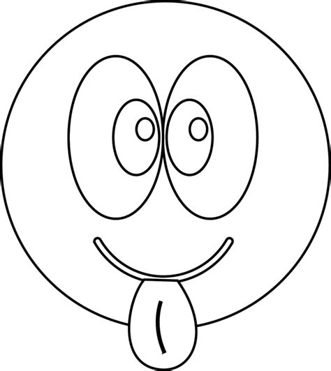 Le Smiley Qui Tire La Langue Dory Fr Coloriages Coloriage Imprimer Smiley Tire La Langue Dory Fr S Smilies Smiley Tire La Langue L