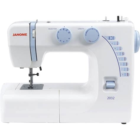 swing machines janome 2032 sewing machine lightweight free arm foot pedal