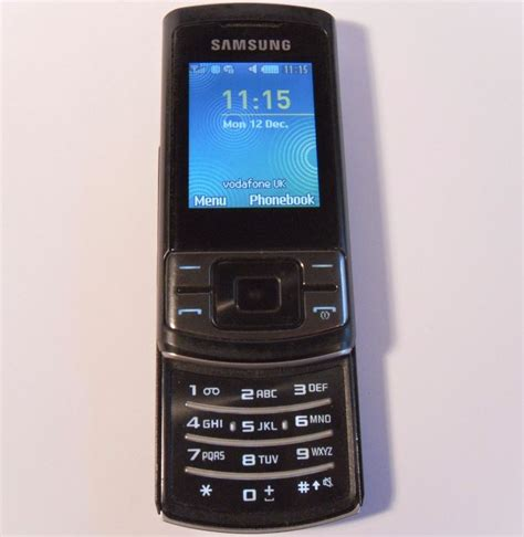 ebay mobile phones samsung samsung c3050 stratus black unlocked mobile phone
