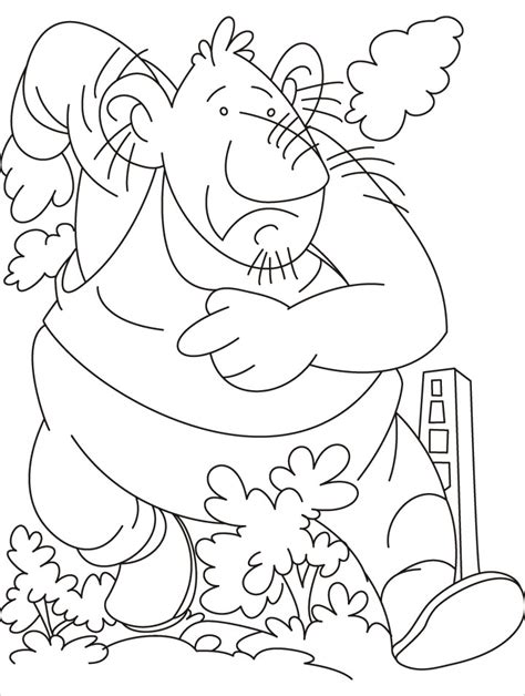 giant firefighter coloring pages download free giant