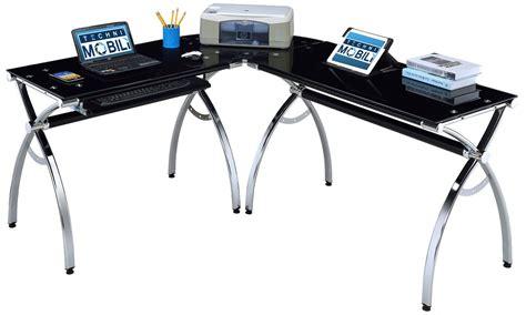 4 Recommended Desks With Printer Storage Homesfeed Corner Gaming Computer Desk