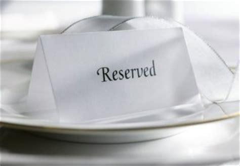 reservations vs no reservations restaurants finding some