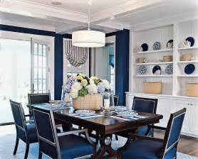 Navy Blue Dining Room Coastal Living Home Tour 15 Photos The Home Touches
