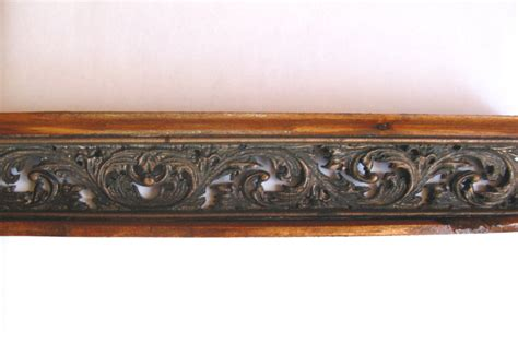 Antiqued Kitchen Cabinets by Kitchen Cabinet Top Moulding Galley Railing Trim Pewter