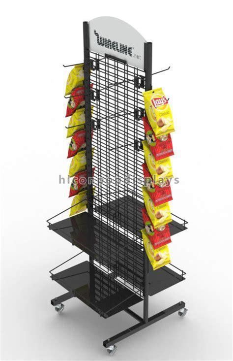 Movable Flooring Display Stands , Metal Flooring Display