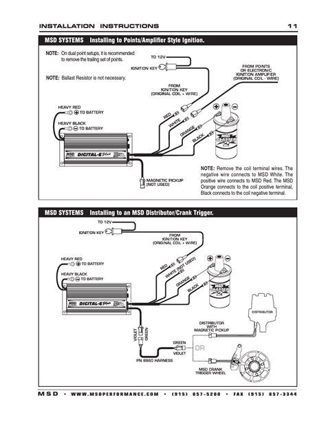 msd digital 6 plus wiring diagram wiring diagram and